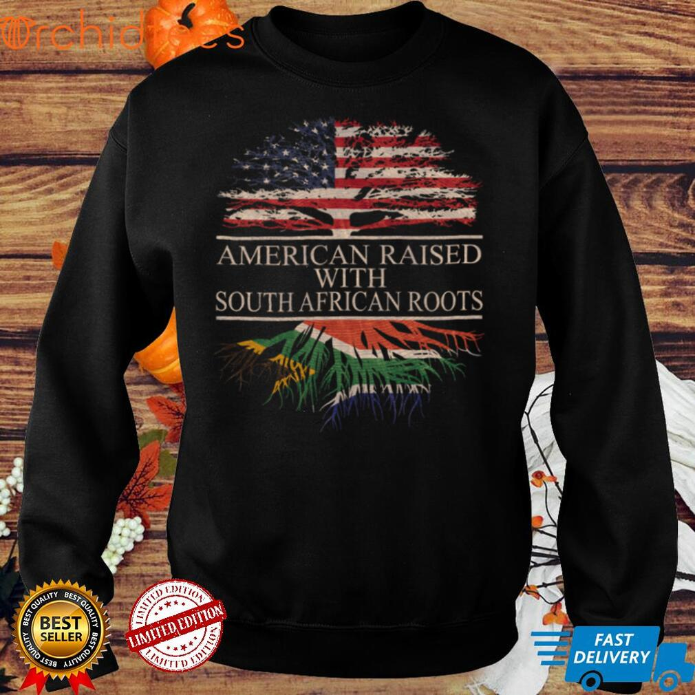 American Raised with South African Roots Long Sleeve T Shirt