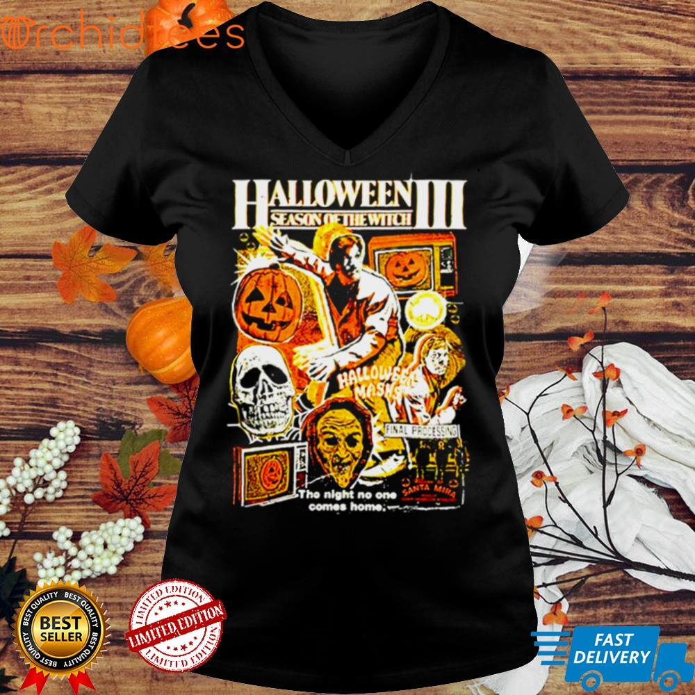 Halloween III season of the witch the night no one comes home shirt