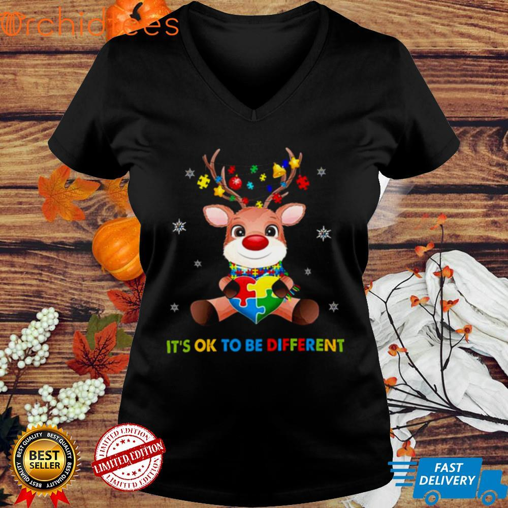 Its Ok to be Different Merry Christmas shirt