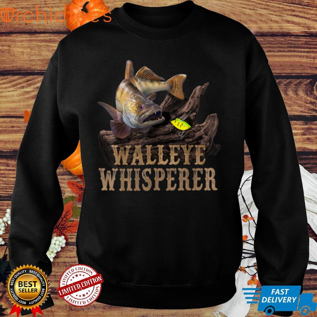Large Walleye With Fishing Lure T Shirt