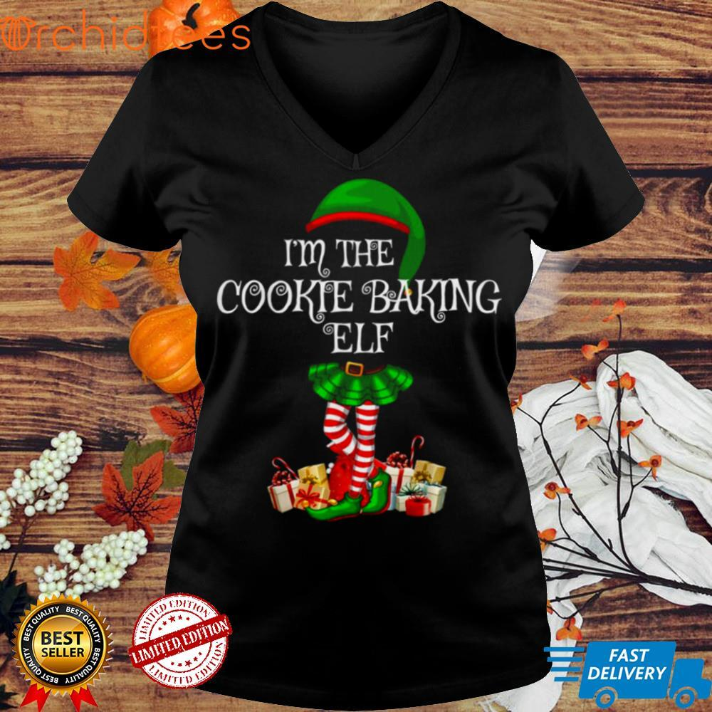 Matching Family Group Im The Cookie Baking Elf Christmas Shirt
