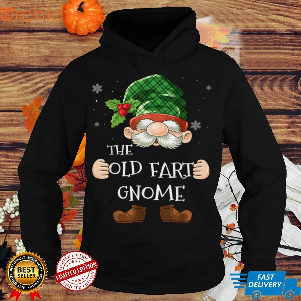 Old Fart Gnome Matching Family Group Christmas Party Pajama T Shirt