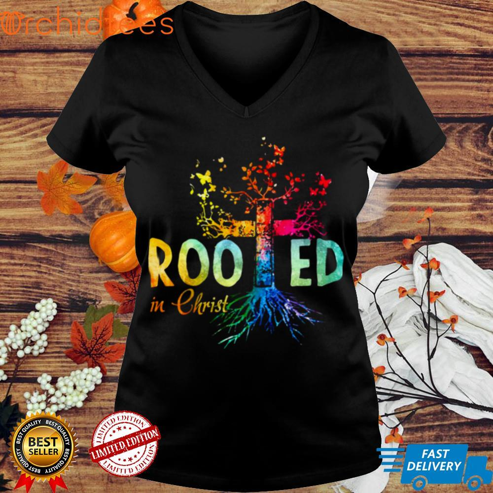Rooted In Christ Vintage T shirt