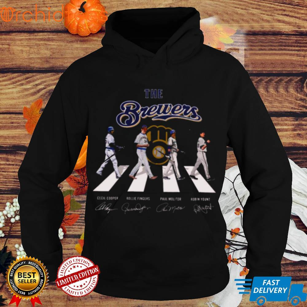 The Milwaukee Brewers Baseball Teams 2021 Abbey Road Signatures Shirt