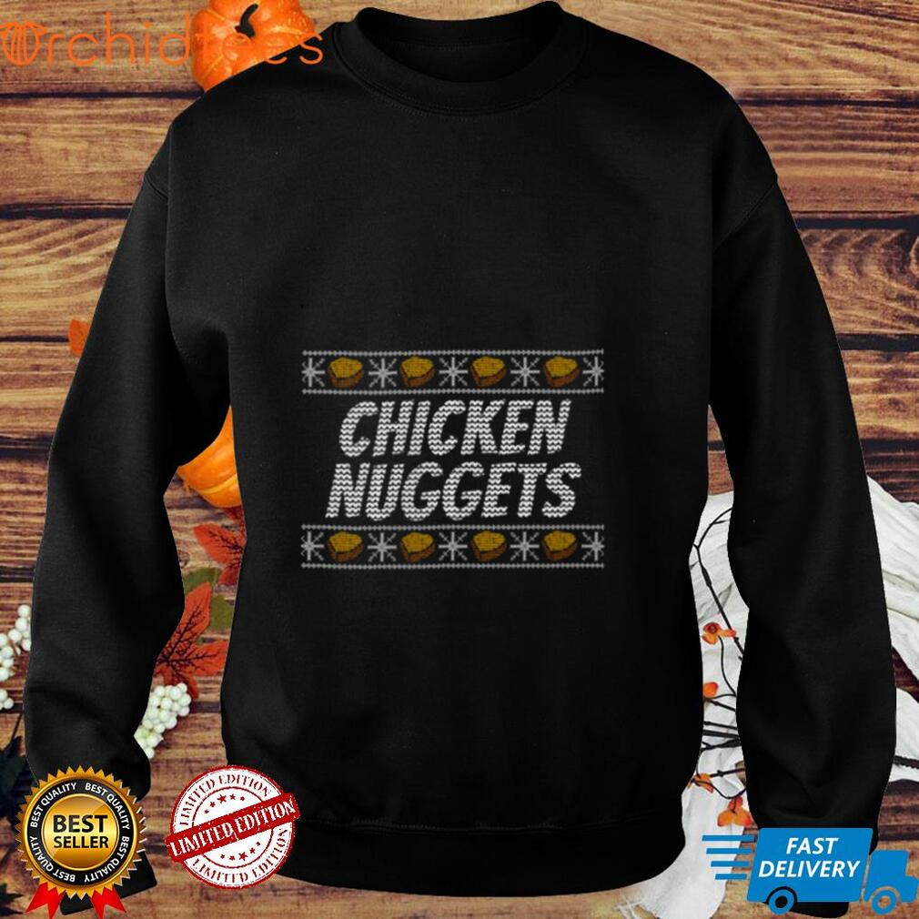 Ugly Chicken Nuggets Christmas T shirt