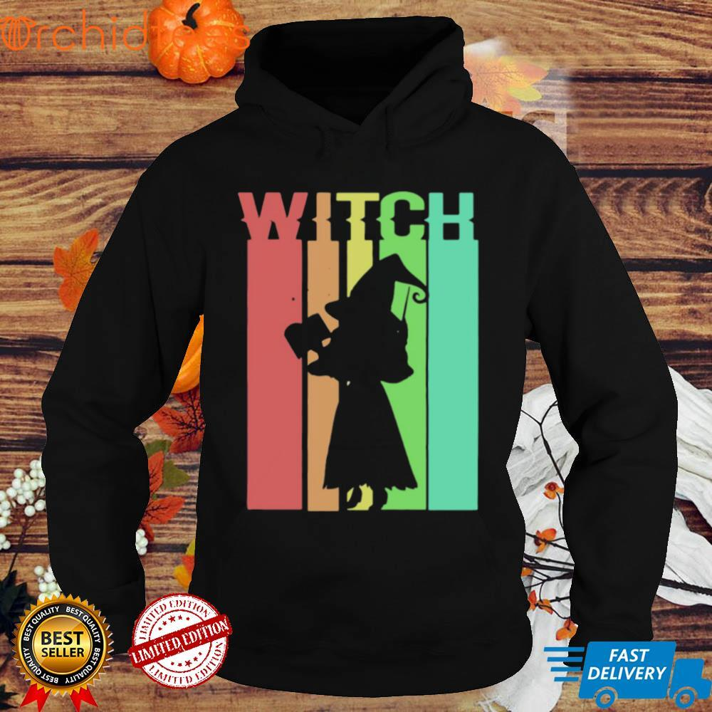 Witch Vintage Witchcraft Halloween Wiccan Coven Retro Shirt